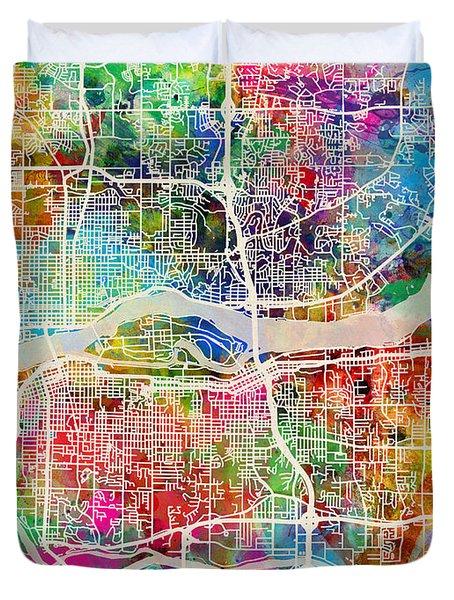 Moline Duvet Covers | Fine Art America |Vertical Quad Cities