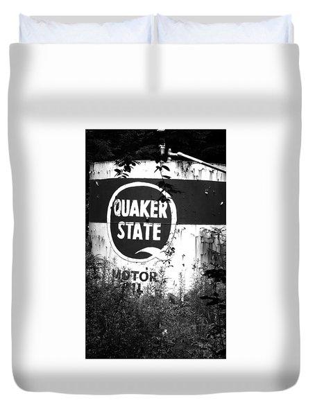 Quaker State Duvet Cover