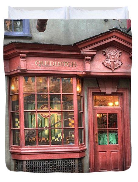Quality Quidditch Supplies Duvet Cover