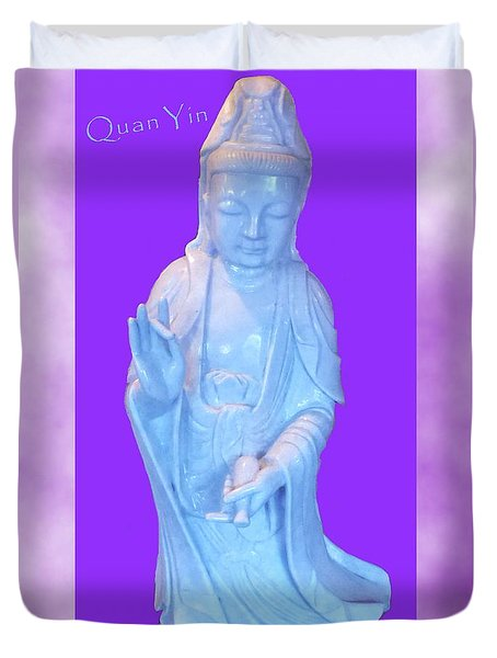 Quan Yin Love Duvet Cover