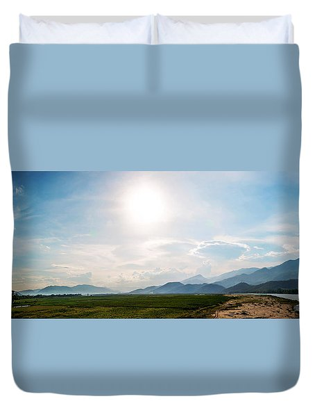 Quang Nam Earth Duvet Cover