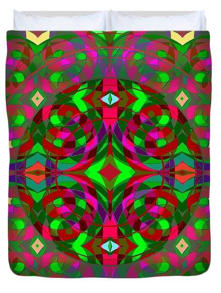 Quantum Portal B Opening Duvet Cover