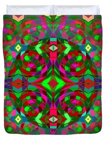Quantum Portal C Open Duvet Cover