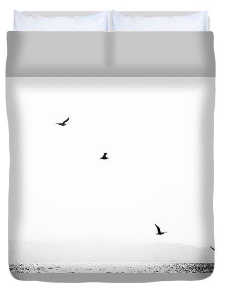 Quartet Duvet Cover by Hayato Matsumoto