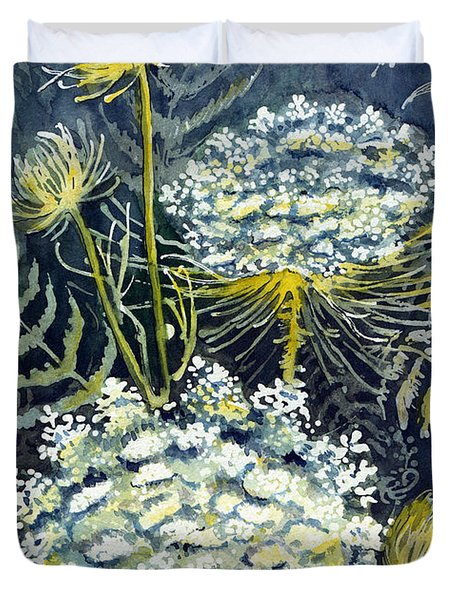 Queen Anne's Lace Duvet Cover