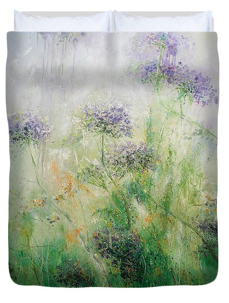 Queen Ann's Lace Duvet Cover