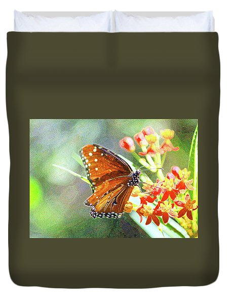 Queen Butterfly Duvet Cover