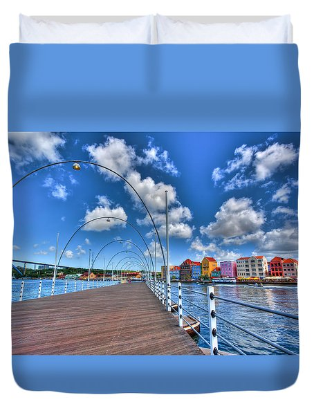 Queen Emma Bridge Duvet Cover