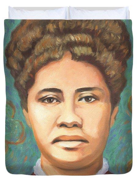 Queen Liliuokalani Duvet Cover