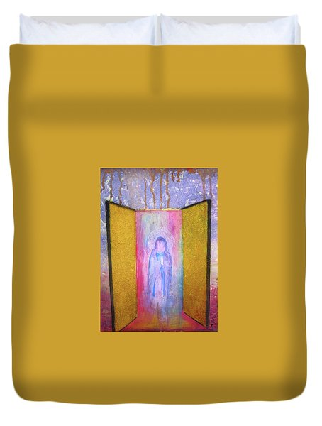 Queen Of Heaven Duvet Cover