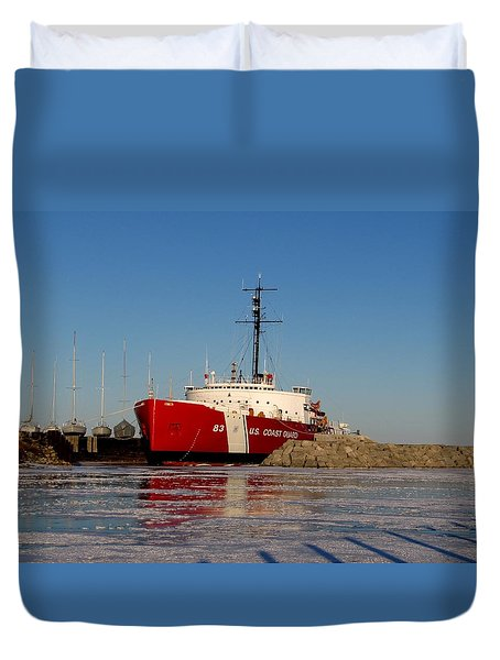 Queen Of The Great Lakes Duvet Cover