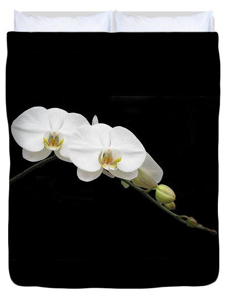 Queen Of The Orchids Duvet Cover