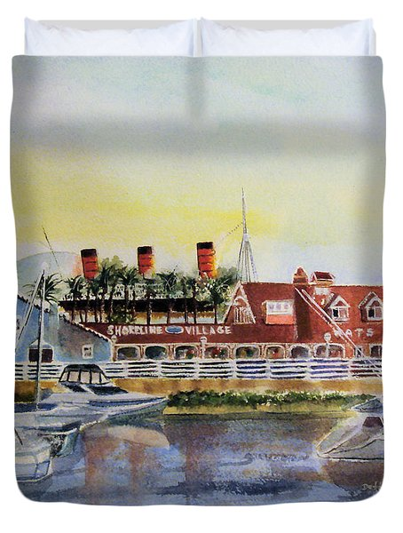 Queen Of The Shore Duvet Cover
