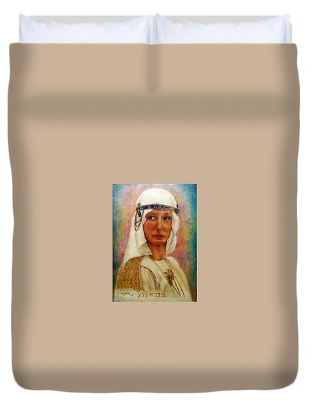 Queen Sheba  Duvet Cover by G Cuffia