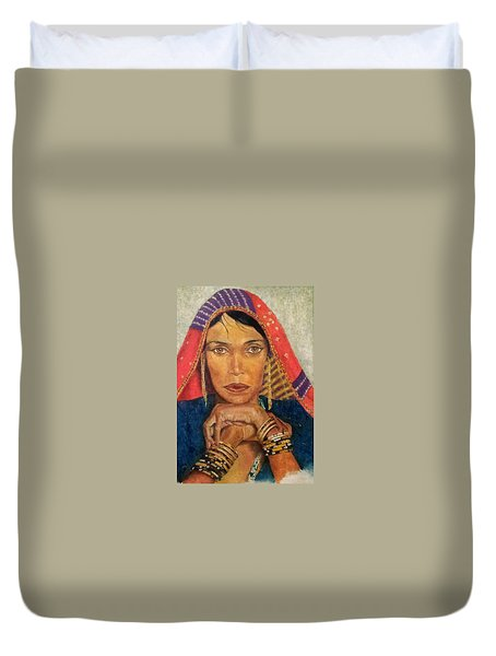 Queen Tahpenes  Duvet Cover