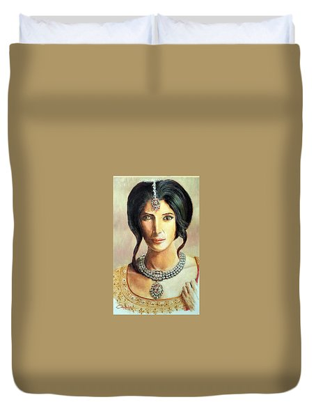 Queen Vashti Duvet Cover