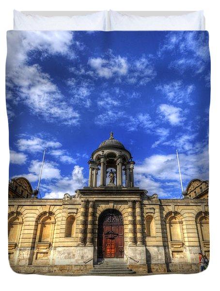 Queens College - Oxford Duvet Cover
