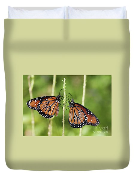 Queens Times Two Duvet Cover