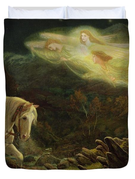 Quest For The Holy Grail Duvet Cover