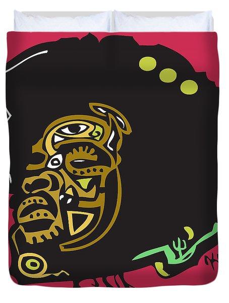 Questlove  Duvet Cover by Kamoni Khem
