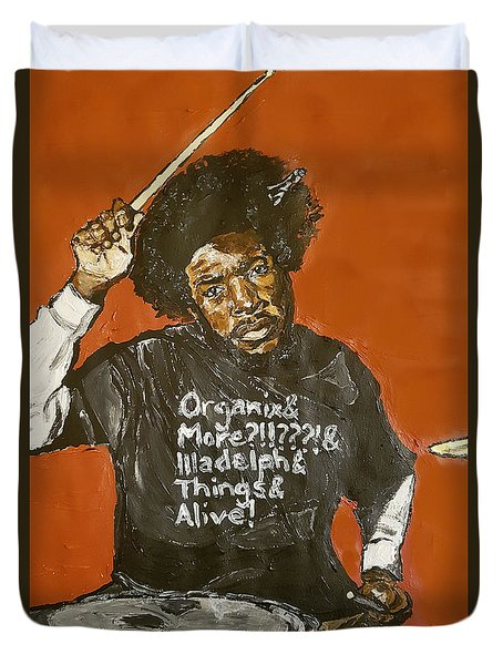 Questlove Duvet Cover