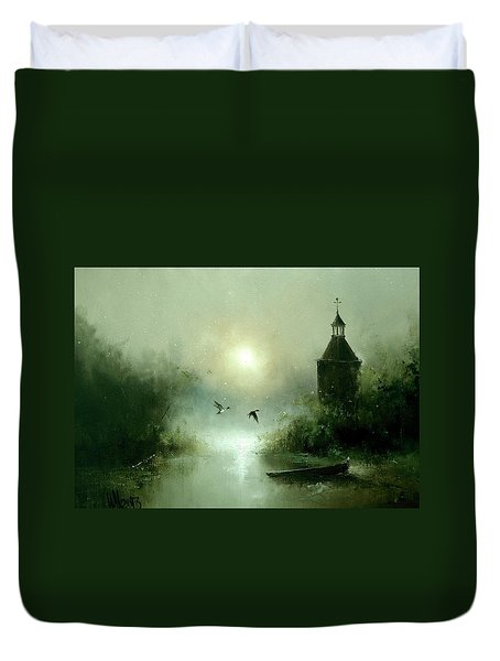 Quiet Abode Duvet Cover