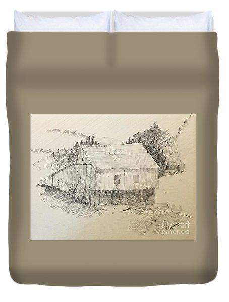Quiet Barn Duvet Cover