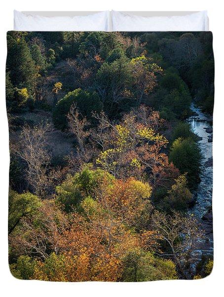 Quiet Canyon Duvet Cover