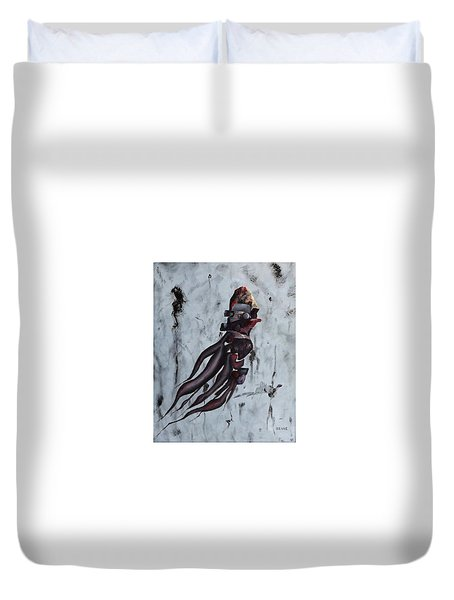 Quiet Desperation Duvet Cover