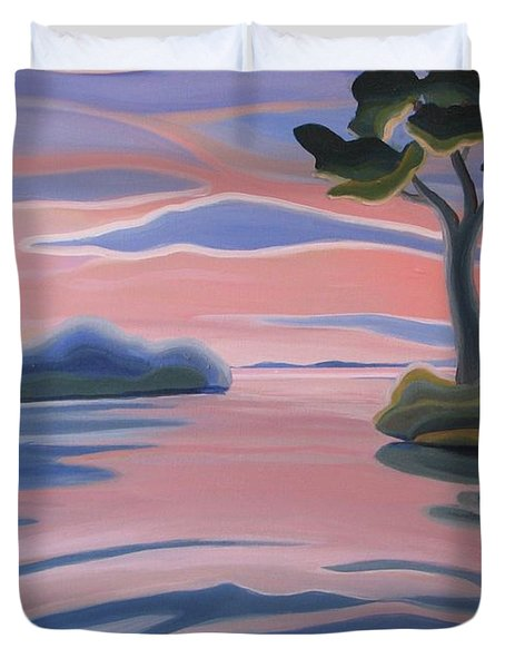 Quiet Evening Duvet Cover