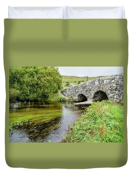 Quiet Man Bridge Duvet Cover