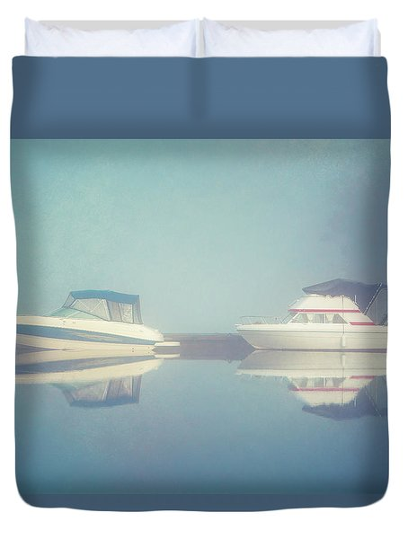 Duvet Cover featuring the photograph Quiet Morning by Ari Salmela