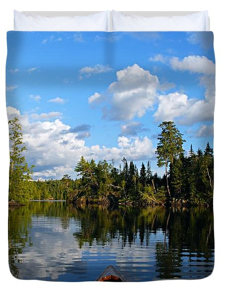 Quiet Paddle Duvet Cover
