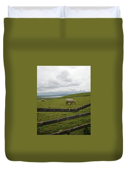 Quiet Pasture Duvet Cover
