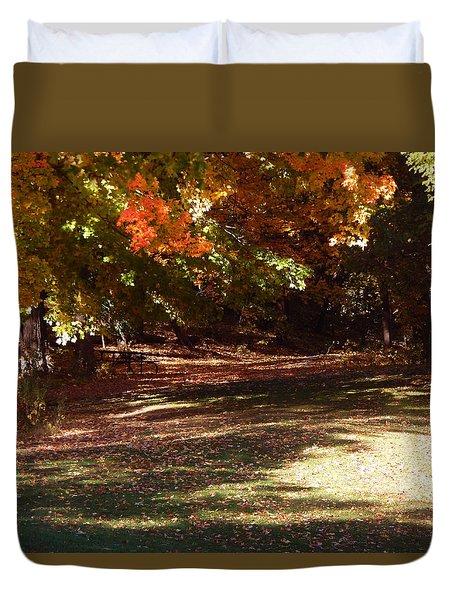 Quiet Picnic Place Duvet Cover
