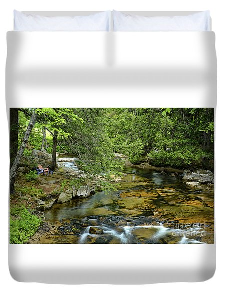 Quiet Place Duvet Cover by Alana Ranney