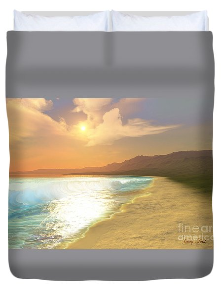 Quiet Places Duvet Cover by Corey Ford