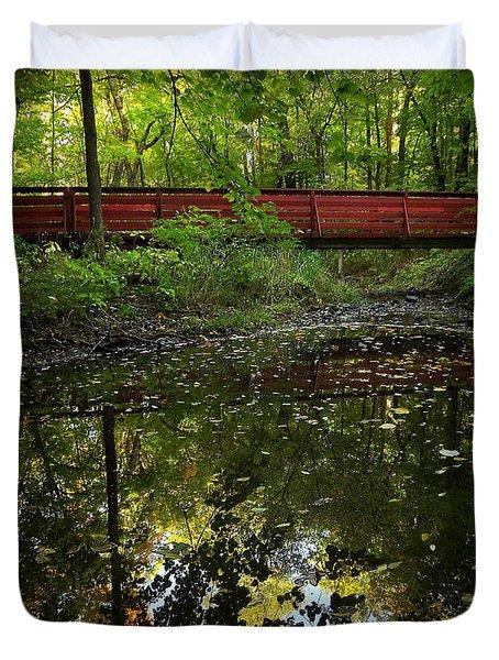 Quiet Reflections Duvet Cover