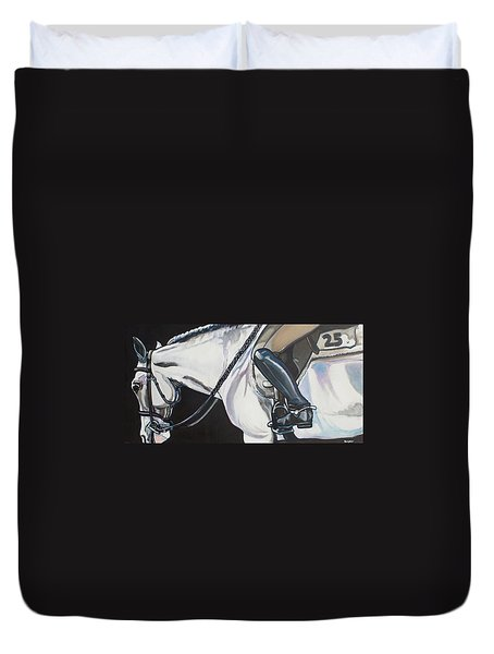 Quiet Ride Duvet Cover by Stephanie Come-Ryker