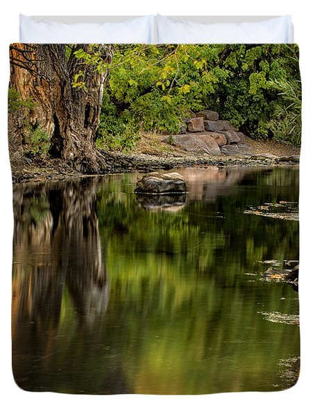 Quiet River Duvet Cover