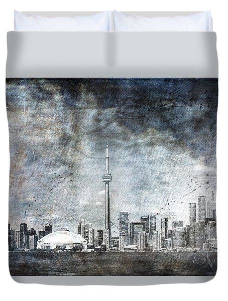 Quiet Sky Duvet Cover