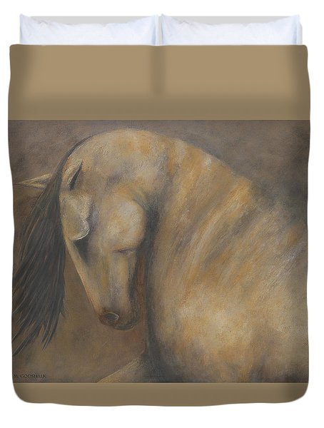 Quiet Strength II Duvet Cover