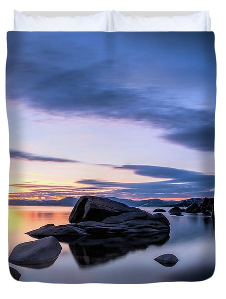 Quiet Sunset Duvet Cover