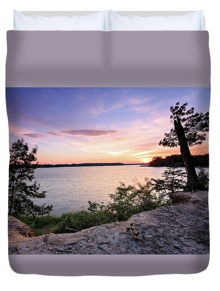 Quiet Waters Crop Duvet Cover