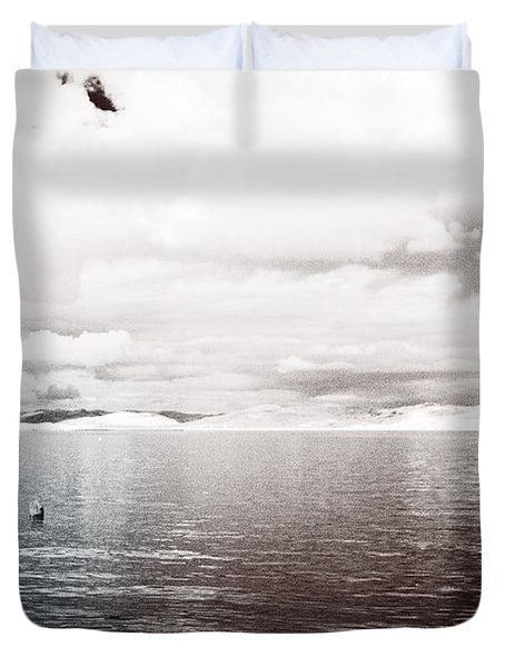 Quiet Waters Duvet Cover by Keith Elliott