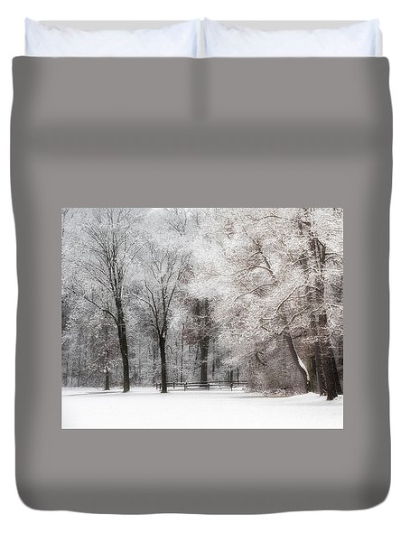 Quiet Winter  Duvet Cover