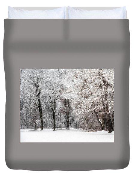 Quiet Winter  Duvet Cover