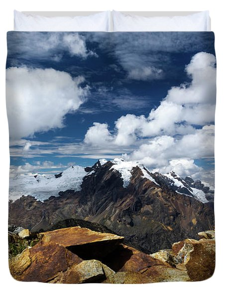 Quilcayhuanca Cairn Duvet Cover