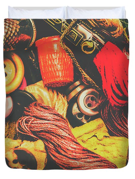 Quilting In Crochet Duvet Cover