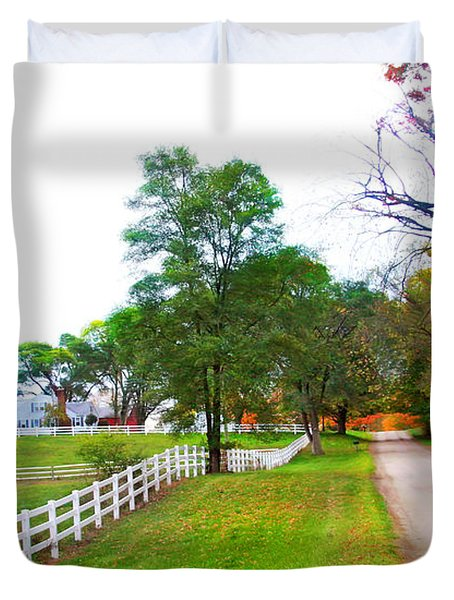 Quintessence Of Autumn Duvet Cover